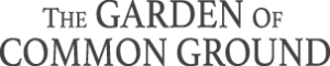 The Garden of Common Ground Text Logo